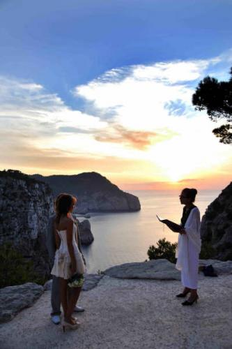 ibiza wedding ceremony